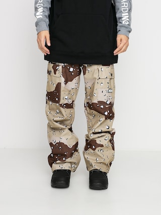 DC Pantaloni pentru snowboard Code (chocolate chip camo)