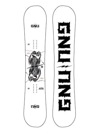 Gnu Snowboard RC C3 (white/black)