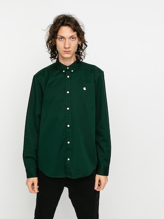 Carhartt WIP Cu0103mau0219u0103 Madison (bottle green/wax)