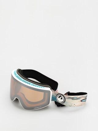 Ochelari pentru snowboard Dragon PXV (iguchi sig 20/ll silver ion/ll amber)