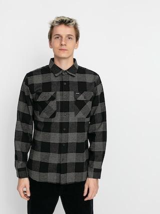 Cu0103mau0219u0103 Brixton Bowery Flannel Ls (black/steel)