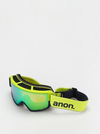 Ochelari pentru snowboard Anon M3 (blue split/perceive variable green)
