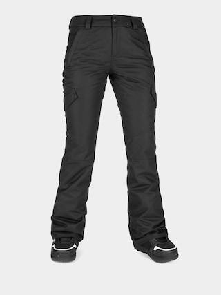 Pantaloni pentru snowboard Volcom Bridger Ins Wmn (black)