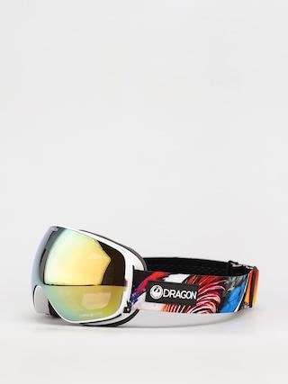 Ochelari pentru snowboard Dragon X2s (hot duck/ll gold ion/ll yellow)