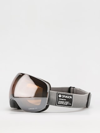 Ochelari pentru snowboard Dragon X2 (titanium/ll silver ion/ll dark smoke)