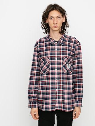 Cu0103mau0219u0103 Polar Skate Flannel (navy/red)