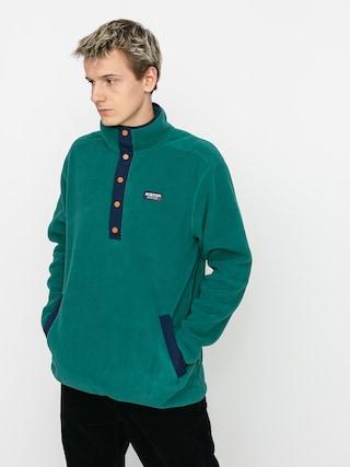 Hanorac din fleece Burton Hearth Pullover (antique green)