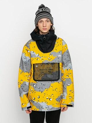 Geacu0103 de snowboard DC Asap Anorak (chocolate chip lemon chro camo)