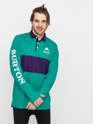 Burton Tricou termic Midweight Rugby (dynasty green/parachute purple)