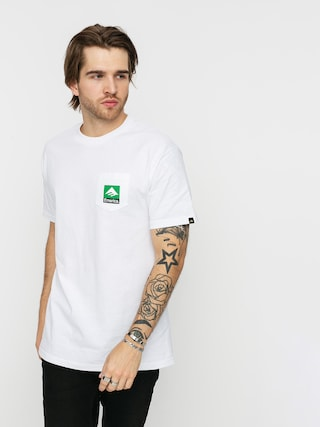 Emerica Tricou Combo Pocket (white)