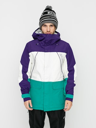Burton Geacu0103 de snowboard Breach Insulated (parachute purple/stout white/dynasty green)