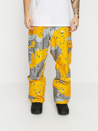 DC Pantaloni pentru snowboard Banshee (chocolate chip lemon chro camo)