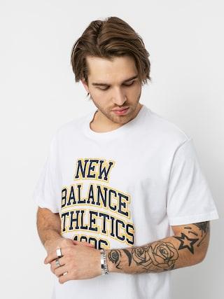 New Balance Tricou Collegiate Spec (white)