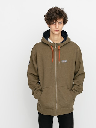 Quiksilver Hanorac termic Big Logo Snow ZHD (military olive)