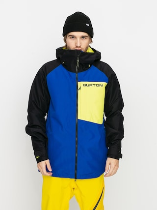 Burton Geacu0103 de snowboard Gore Tex Radial Insulated (lapis blue/true black/limeade)