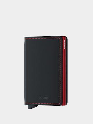 Portofel Secrid Slimwallet (matte black/red)