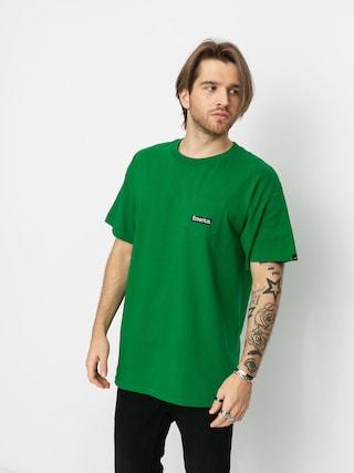 Emerica Tricou Pure Triangle Pocket (green)