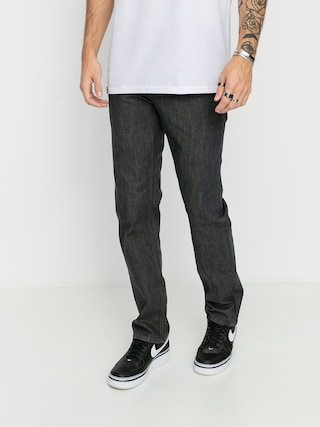 Volcom Pantaloni Solver Denim (dark grey)
