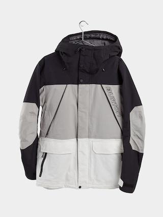 Geacu0103 de snowboard Burton Breach Insulated (true black/iron gray/stout white)