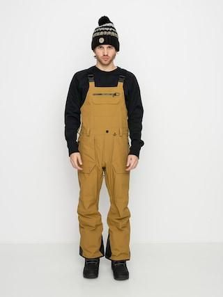 Volcom Pantaloni pentru snowboard Rain Gore Bib Overall (burnt khaki)