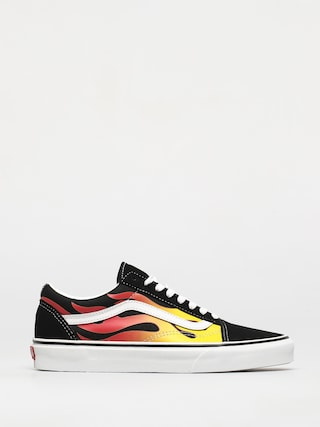 Vans Pantofi Old Skool (flame/black/black/true white)