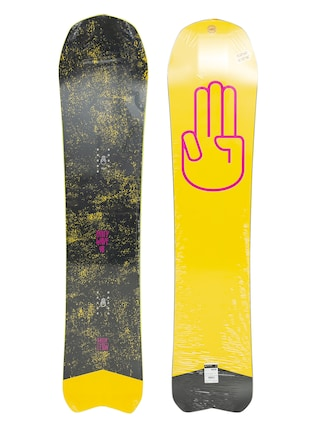 Bataleon Snowboard Party Wave (yellow/pink/black)