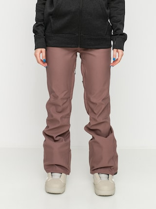 Pantaloni pentru snowboard Volcom Species Stretch Wmn (rose wood)