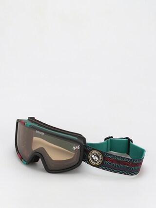 Quiksilver Ochelari pentru snowboard Browdy (true black capsule stripe)