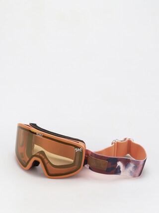 Ochelari pentru snowboard Roxy Feelin Wmn (oxblood red leopold)