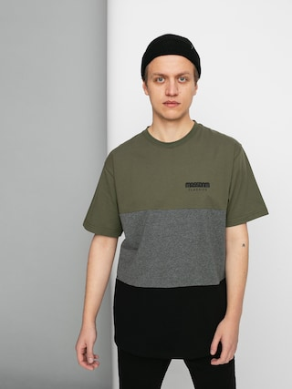 Tricou MassDnm Zone (khaki/black)