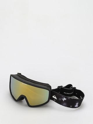 Quiksilver Ochelari pentru snowboard Browdy (true black woolflakes)