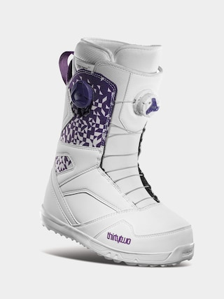 u00cencu0103lu021bu0103minte pentru snowboard ThirtyTwo Stw Double Boa Wmn (white/purple)