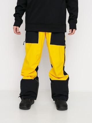 DC Pantaloni pentru snowboard Squadron (lemon chrome)