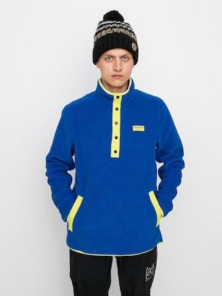 Hanorac din fleece Burton Hearth Pullover (lapis blue)