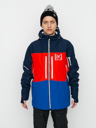 Burton Geacu0103 de snowboard Ak Gore Tex Swash (dress blue/flame scarlet/lapis blue)