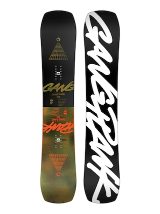Rome Snowboard Gang Plank (black/white)