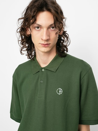 Tricou polo Polar Skate Pique (hunter green)
