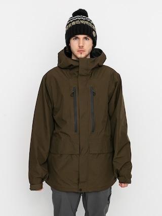 Volcom Geacu0103 de snowboard Ten Ins Gore Tex (black military)