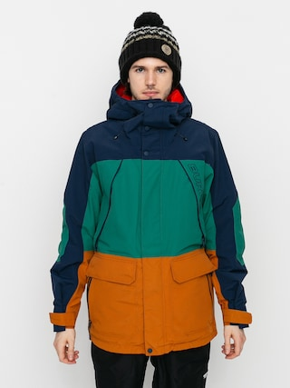 Burton Geacu0103 de snowboard Breach Insulated (dress blue/antique green/true penny)