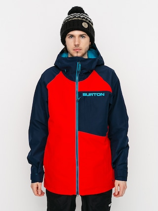 Burton Geacu0103 de snowboard Gore Tex Radial Insulated (flame scarlet/dress blue)