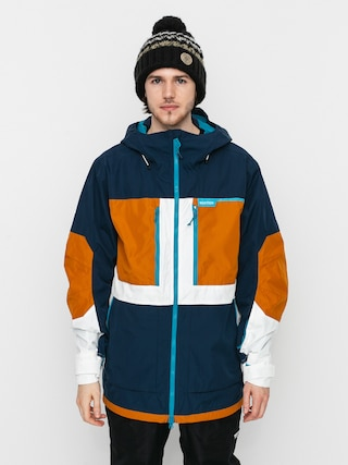 Burton Geacu0103 de snowboard Frostner (dress blue/true penny/stout white)