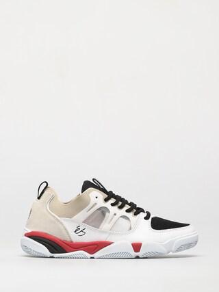 eS Pantofi Silo (white/black/red)