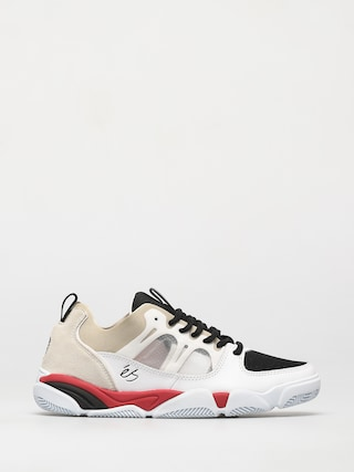 Pantofi eS Silo (white/black/red)