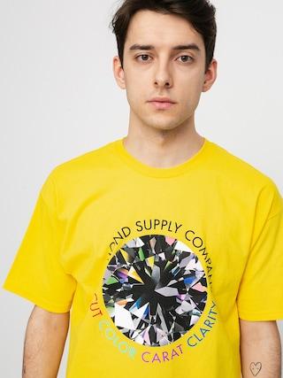 Diamond Supply Co. Tricou Clarity (yellow)