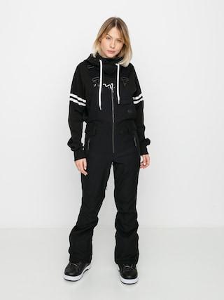 Pantaloni pentru snowboard Volcom Swift Bib Overall Wmn (black)
