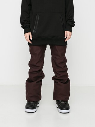 Pantaloni pentru snowboard Volcom Grail 3D Stretch Wmn (black red)