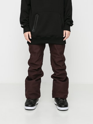 Volcom Pantaloni pentru snowboard Grail 3D Stretch Wmn (black red)