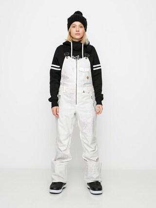 Pantaloni pentru snowboard Volcom Swift Bib Overall Wmn (bone snake)