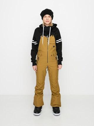 Pantaloni pentru snowboard Volcom Swift Bib Overall Wmn (burnt khaki)
