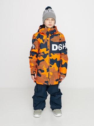 DC Geacu0103 de snowboard Propaganda (youth pill camo shocking orang)